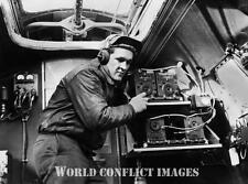 WW2 B-17 Bomber Radio Operator ID'd 8x10 Photo 306th BG RAF Thurleigh WWII