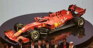 Modellino auto formula 1 GP Burago scala 1:18 FERRARI F1 VETTEL 2020 N.5 diecast