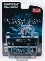 1/64 Greenlight 1967 Chevrolet Impala Sport Sedan & 2 Supernatural Figures 51206