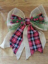 Christmas Teardrop Wreath Swag Door Wall Garlands Xmas Hanging Decor