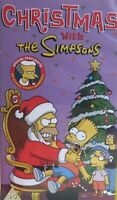 *The Simpsons - Christmas With The Simpsons VHS Video Tape Vintage Cartoon TBLO*