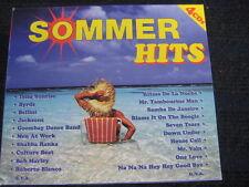 4 CD-Set  Sommer Hits  Various Artists  Nena Men at Work Kriss Kross Bob Marley