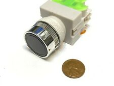1 Piece Black Latching PUSH BUTTON SWITCH normally open closed 22mm on off C40