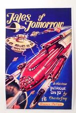 Tales of Tomorrow Science Fiction Vintage Art Poster