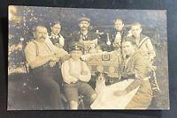 AK Foto Familienfest 1915 mit Marke Germania gestempelt NIEDERBOBRITZSCH