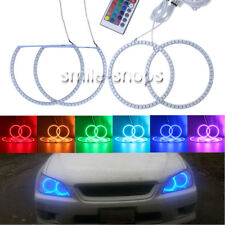 RGB Multi-Color LED SMD Angel Eyes Halo Rings For LEXUS IS200 IS300 1998-2005