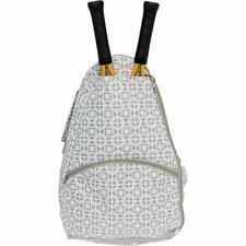 Deuce Tennis Racket Backpack - Women's Geometric Square Printed Racquet Holder ""