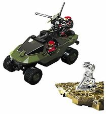 MEGABLOKS HALO UNIVERSE METAL SERIES UNSC WARTHOG DIE CAST MINI FIGURE NEW