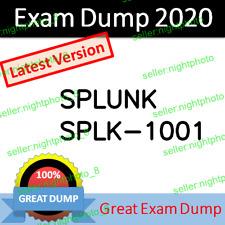 SPLK-1001 Splunk Core Certified User Exam Dump PDF