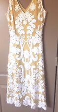 SUNDANCE CATALOG CAMEO GOLDEN DRESS- NWT,SIZE MEDIUM LEFT  RET.$218.00