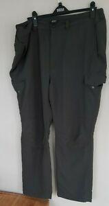 ROHAN Dry Frontier Trousers Combat 40S 28L  Mens grey outdoor hiking walking