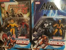 Marvel Universe GREATEST BATTLE Comic 2-Pack 3.75 Figure Lot DAKEN Dark Avengers