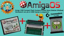 Commodore Amiga 1200 Compact Flash + Os Amiga + Whdload Games + Cable CF IDE Kit