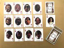 Alice in Wonderland Hallmark movie 1999 playing cards deck