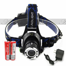 12000LM XM-L T6 LED Headlamp Headlight 18650 flashlight Head Light Sports Lamp
