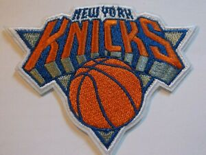 New York Knicks Embroidered PATCH~3 1/2 x 2 3/4~Iron Sew On~NBA~Ships FREE