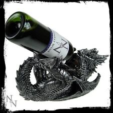 Wine Bottle Holder Guzzler Dragon  Gothic Fantasy 17 cm