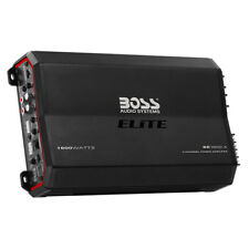 Boss Elite BE1600.4 1600 watt 4 Channel Amplifier w/ Remote Subwoofer Control