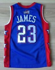 857165269 CLEVELAND CAVALIERS BASKETBALL VEST JAMES   23 ALL-STAR L +2 NBA VGC