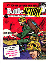 """Battle Action No 53 1950's -Australian- """"The Island That Couldn't Be Taken ! """""""