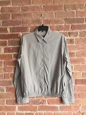 Jil Sander Men's Blouson Shirt Jacket Gray Sz 41 Italy