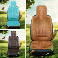 1PCS Cooling Natural Wood Beaded Car Seat Cover Summer Massage Front Seat Pad