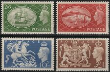 1951 SG509/512 FESTIVAL HIGH VALUES UNMOUNTED MINT SET
