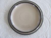 Denby Sonnet - Brown Rim with Tan Center - Salad Plate