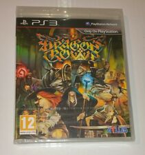 Dragon's Crown PS3 New Sealed UK PAL Sony PlayStation 3 RARE RPG Anime Dragon