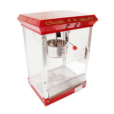 4 Oz Máquina De Popcorn De Acero Inoxidable Pop Corn Palomitas Maker máquina 500w Nuevo