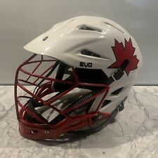 Team Canada Warrior Evo Lacrosse Helmet