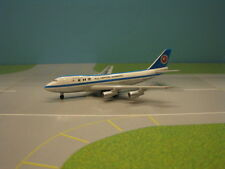 """HERPA WINGS ANA """"MOHICAN SCHEME"""" 747-100 1:500 SCALE DIECAST METAL MODEL"""