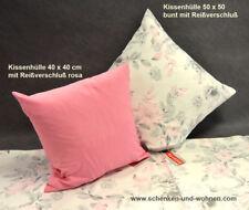 Kissenhülle Ventura 40x40cm rosa Pink Hossner