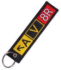 Crew Flightdeck Pilot Capt Keyring Keychain Taxiway Sign Remove Before Flight