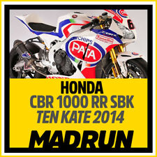 Kit Adesivi Honda CBR 1000 RR SBK Team Ten Kate 2014 - HRC - High Quality Decals