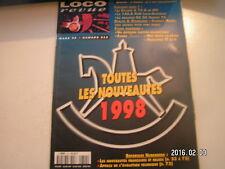**c Loco Revue n°612 La 140 B PLM en HO / Un Billard A 75 D de RPI en HO