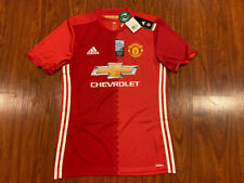 2016-17 Adidas Manchester United Men's Soccer Jersey Medium M Authentic Player