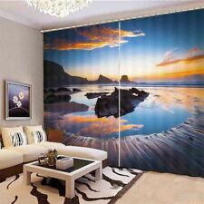 Beautiful Natural Wonders 3D Blockout Photo Print Curtain Fabric Curtains Window