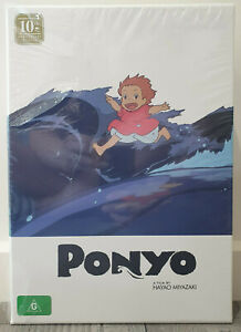 Ponyo 10th Anniversary Limited Edition Set - DVD/Blu-ray Hardcover Book - Sealed