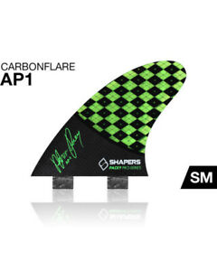 NEW Shapers Fins - AP01 Asher Pacey - surfboard fins RRP £80 Save £££'s