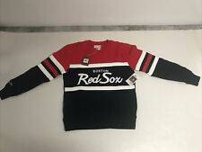 New Boston Red Sox Crew Sweatshirt Mitchell & Ness Size L & XL - Retail $100