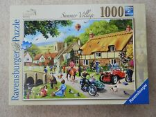 Ravensburger 1000 piece jigsaw Summer Village, excellent condition