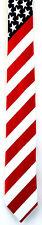 "American Flag Men's Necktie Skinny 2 1/2"" Fashion Novelty Patriotic Neck Tie '"