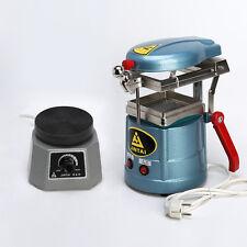 "Dental Lab Vacuum Former Molding Machine + Vibrator 4"" Round Shaker Oscillator"