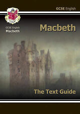 GCSE English Shakespeare Text Guide - Macbeth by CGP NEW 2017 Edition