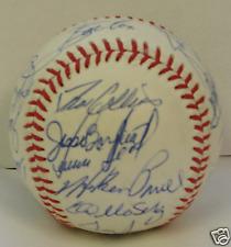 1983 TORONTO BLUE JAYS - Team signed ball 25 signatures