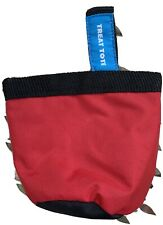 Canine Hardware, Treat Tote- Brand New Red—4 For Sale