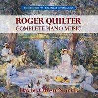 David Owen Norris - Roger Quilter: Complete Piano Music [CD]