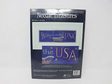 Needle Treasures Counted Cross Stitch Kit - Bathed in the USA