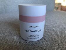 Tan Luxe Pepta Glow Peptide 360 Gradual Self Tan 50ml Daily Moisturiser New